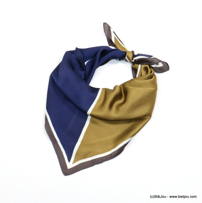 scarf 0719016-99 70x70cm 100%polyester