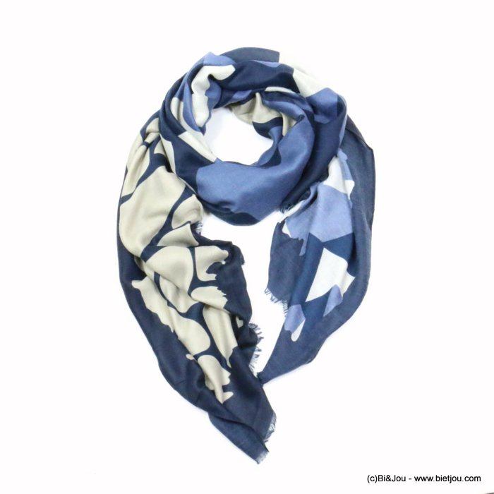 scarf 0719523-09 designed in France 180x90cm 100%viscose