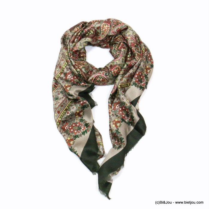 scarf 0719524-03 designed in France 180x90cm 100%viscose