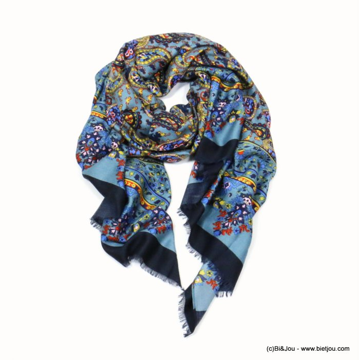 scarf 0719524-09 designed in France 180x90cm 100%viscose