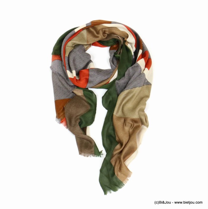scarf 0719525-03 designed in France 180x90cm 100%viscose