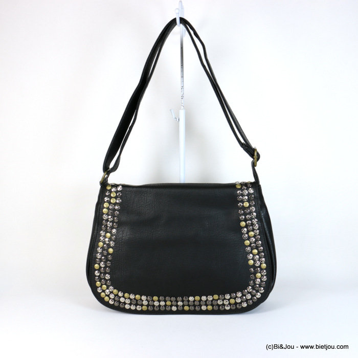 handbag 0917548-01 studded 35x25.5x10cm synthétique