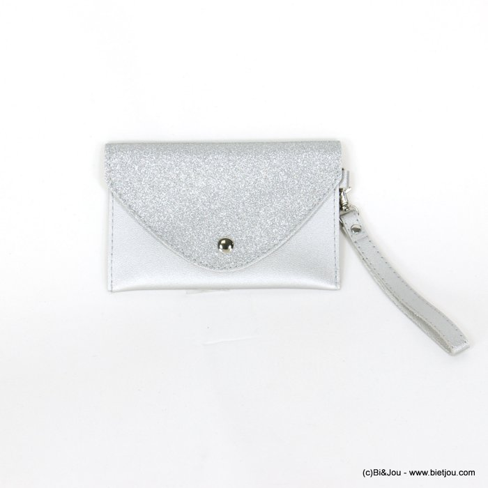 handbag 0918531-13 glitter clutch/belt bag synthetic 170x107mm