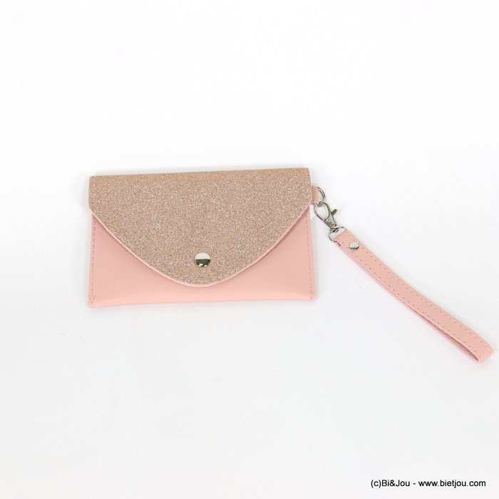 handbag 0918531-23 glitter clutch/belt bag synthetic 170x107mm