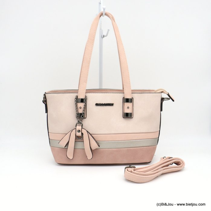 sac à main 0919013-18 mini cabas simili-cuir semi-rigide multi-tons femme 35x22x13cm synthétique