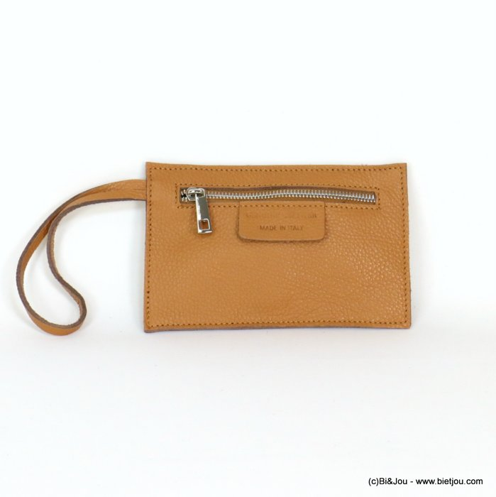 poch 0919042-02 18.5x12cm GENUINE LEATHER