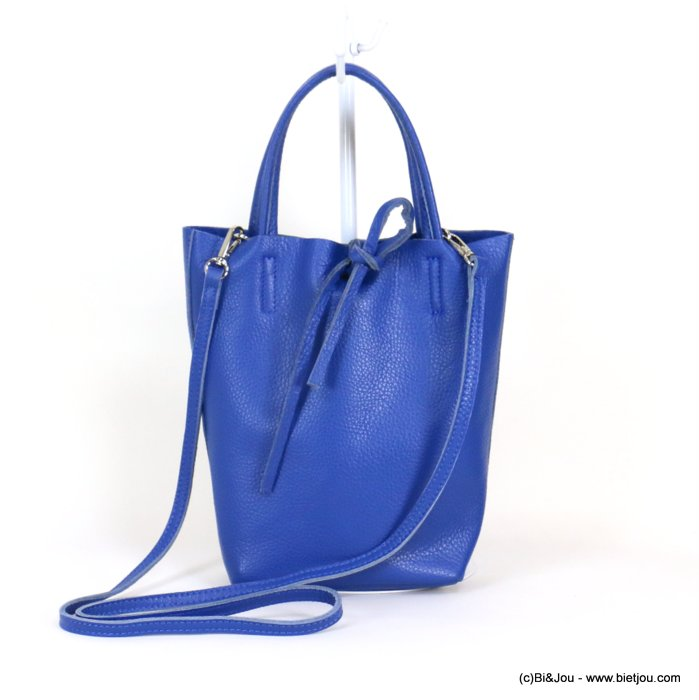 handbag 0919043-09 GENUINE LEATHER 23.5x22.5x7.5cm