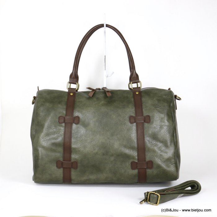 handbag 0920014-03 travel bag soft faux-leather adjustable strap synthetic 48x31x21cm