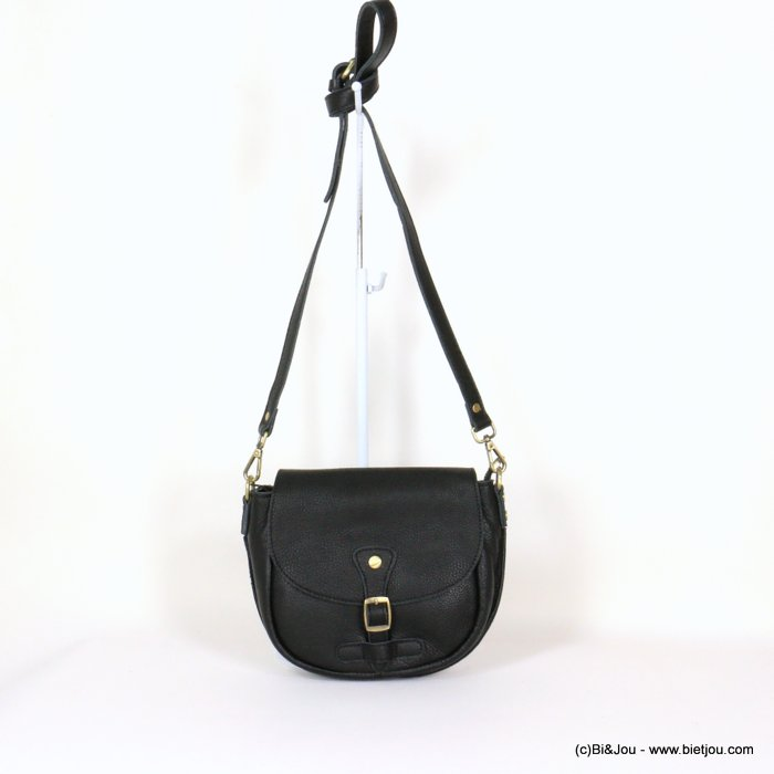 handbag 0921005-01 saddlebag 21x18x6cm GENUINE LEATHER