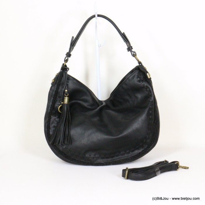 handbag 0921029-01 tassel synthetic 38x30x10cm